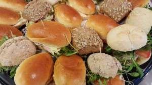 Plateau Séminaire mélange petits pains - La tartiniere du zoning - Wauthier-Braine