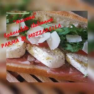 Le Parma Di Mozzarella - La tartiniere du zoning - Wauthier-Braine