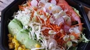 Salade selon les légumes du marché - La tartiniere du zoning - Wauthier-Braine
