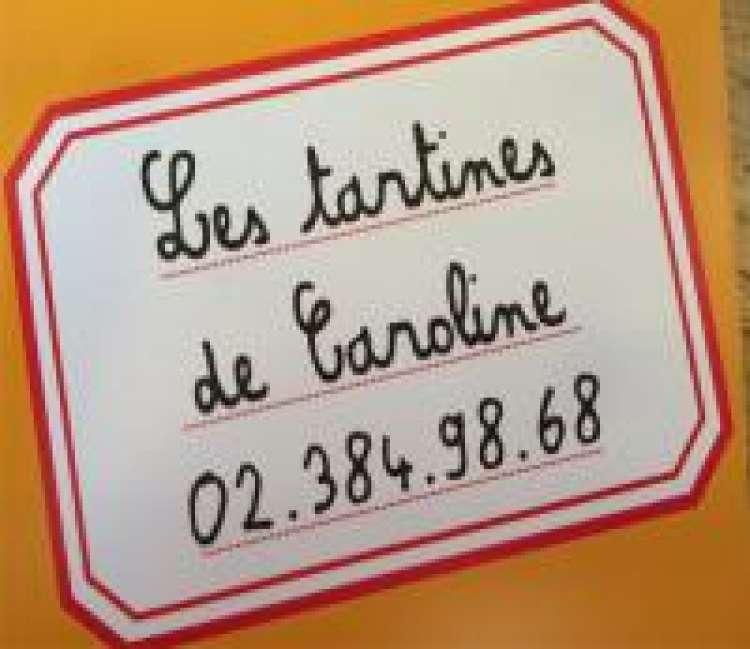 Logo Sandwicherie Les tartines de Caroline Braine-l'Alleud