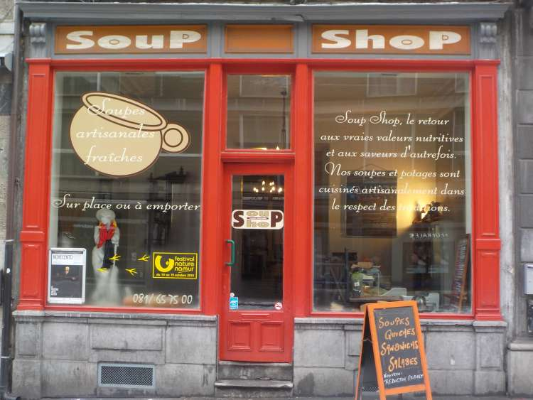 Logo Sandwicherie Soup Shop Namur