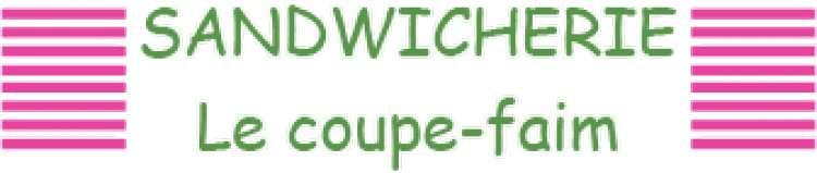 Logo Sandwicherie Le coupe faim Mons