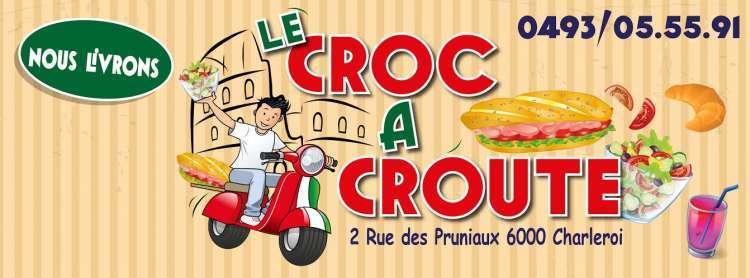 Logo Sandwicherie Le Croc à Croûte Charleroi