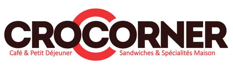 Logo Sandwicherie Le Croc Corner Waterloo