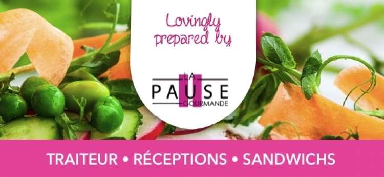Logo Sandwicherie La Pause Gourmande - Sandwicherie pour Entreprises Mons